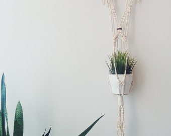 Macrame Wall/Plant Hanging - Small