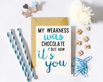 Funny Birthday Card him, Romantic Birthday Card for boyfriend / girlfriend, Funny Anniversary Card, Love Card, Sarcastic Birthday Card