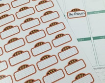 Movie Marquee #2 Planner Stickers! Perfect for your Erin Condren Life Planner! Set of 36 stickers!!