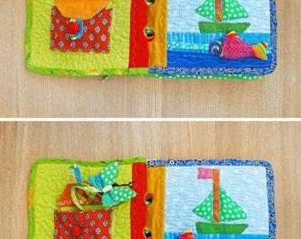 Textile Sensory Baby Book