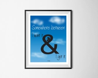 Drake Dorm Room Decor, Nothing Was The Same - Birthday Gift, Housewarming Gift, Music Lovers, Hip Hop Lyric Wall Art - **INSTANT DOWNLOAD**