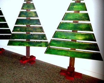 Wooden Holiday Tree