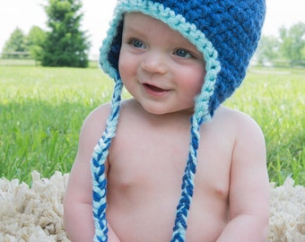 Baby Hat Dinosaur Crochet Photo prop  / ClaraLoo
