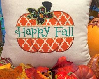Happy Fall, Decorative Pillows, Thanksgiving Decor, Pumpkin Decor, Fall Home Decor, Holiday Decor, Happy Fall Yall, Thanksgiving Pillows