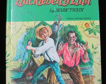 Huckleberry Finn, by Mark Twain, 1955