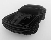 Dodge Challenger Fridge/Refrigerator Magnet Laser Engraved Acrylic Multiple Colours