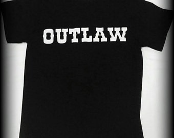 Modern Day Outlaw t-shirt, Outlaw shirt, Cowboy shirt, Cowgirl shirt, Western shirt, Outlaw, Old West shirt, Rebel shirt, S, M, L, XL