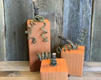 Rustic Pumkin Set