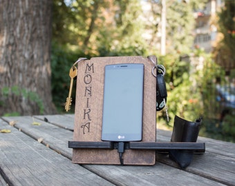 Personalized birthday gifts, boyfriend gift for him, Anniversary gifts for men, Groomsmen Gift, Gift For Dad, Docking Station, Mens Gift
