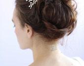 Bridal hair comb - Crystal spray comb - Style 602 - Ready to Ship