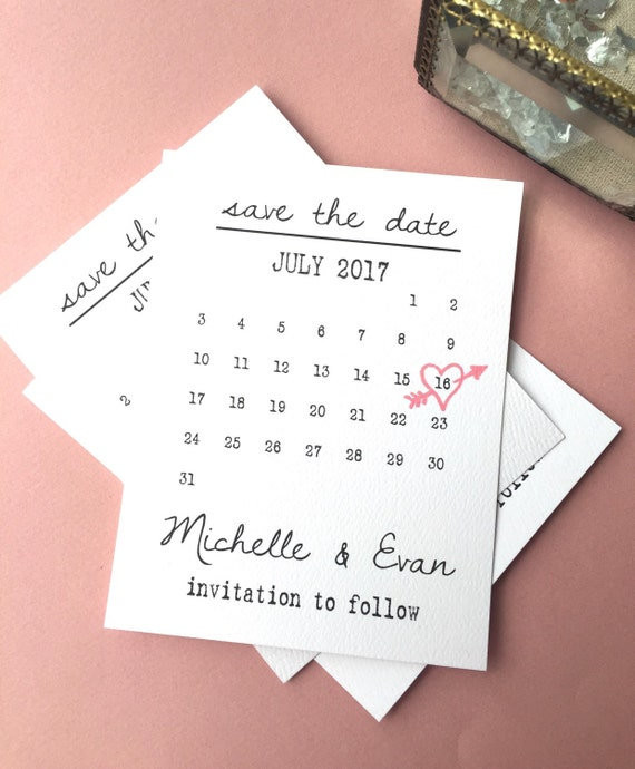 printable calendar save the date cards heart date save the. Black Bedroom Furniture Sets. Home Design Ideas