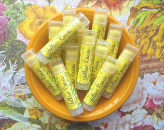 Yellow Roses Vegan Lip Balm - Limited Edition Favorite Things Flavor