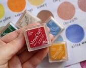 versacraft ink pad | tsukineko rubber stamp ink pad | multipurpose water based  pigment ink for fabric paper wood ceramic | small | choose 1
