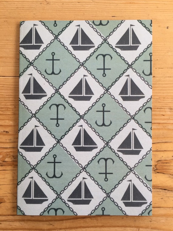 Notebook - Boats and Anchors