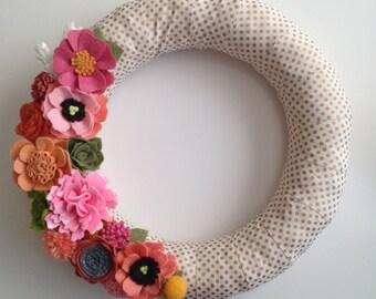 Printemps Wreath