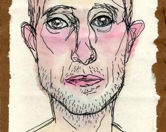 original illustration - face 1