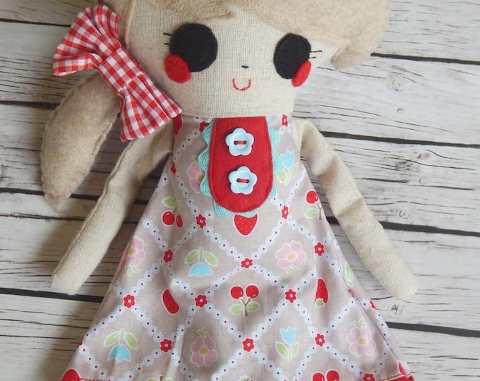 Softie Handmade Doll Dinah