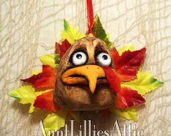 Thanksgiving Ornament, Turkey Ornament, Thanksgiving Decoration, Fall Decoration,