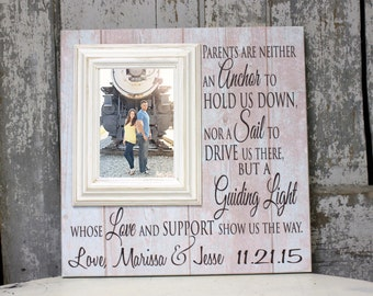 Wedding Gift for Parents, Thank You Gift For Parents, Wedding Gift Parents, Parents of the Bride, Parents of the Groom