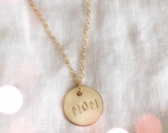 Personalized Initial Necklace Pendant Necklace Gift for Mom  Jewelry Initial Jewelry Necklace Jewelry Personalized Limonbijoux