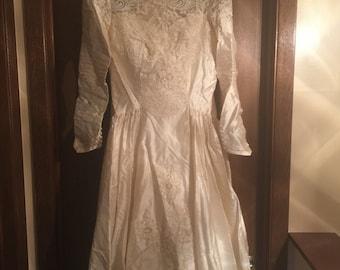 1950's Wedding Dress