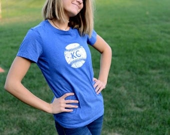 Kansas City Royals Youth and Adult Screen Printed Tee