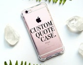Custom Clear Case, Clear iPhone Case, Transparent Case, Custom iPhone 7 Case, Custom iPhone 7, Clear Case Custom, iPhone 6 Clear, Custom