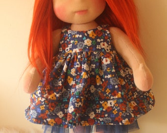 "Waldorf inspired doll called Sienne , 18"" tall"