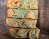 Mandarin Oasis Soap Cold Process Soap Vegan Palm Free Handmade Soap