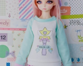 BJD Sweater for Slim MSD Minifee or SD - Magical Girl