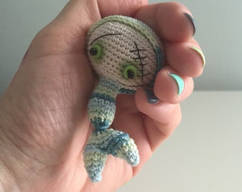 Bighead Glük Mermaid - OOAK - ready to ship