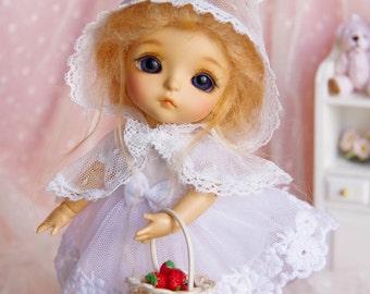 Lati Yellow/ Pukifee - Rosy Bunny Dress - White Color
