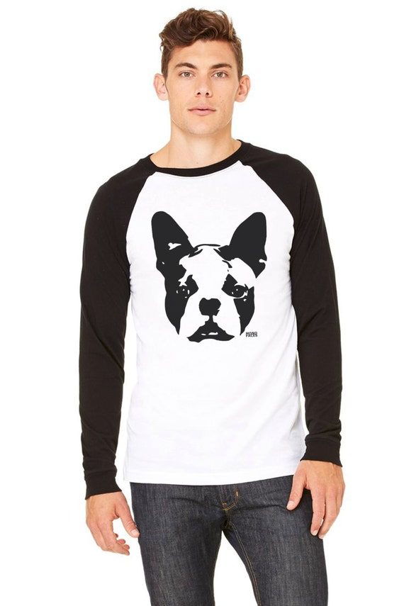 Items similar to boston terrier shirt long sleve tshirt for Boston rescue 2 t shirt