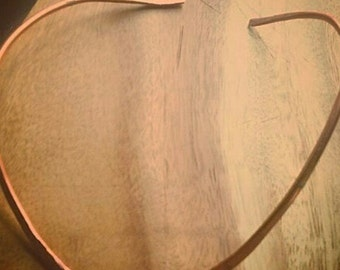 Copper Collar/Hammered Copper Collar