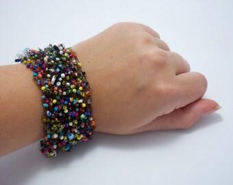 Christmas jewelry bohemian bracelet for girls freedom bracelets cuff Mexican jewelry unusual bracelet lesbian jewelry multi bracelet large
