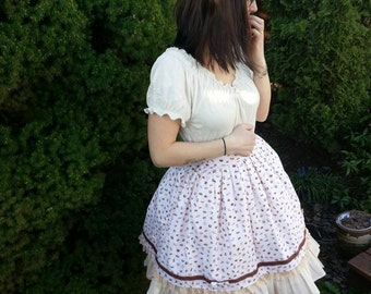 Petite Pastries Layered Sweet Lolita Skirt