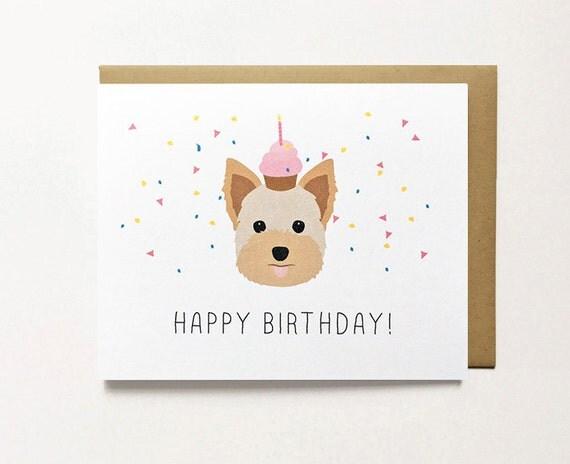 Yorkie Birthday Decorations Image Inspiration of Cake and