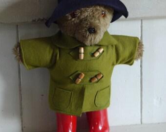 Vintage Paddington Bear - Teddy Bear Toy