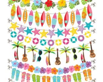 Hawaiian clip art | Etsy