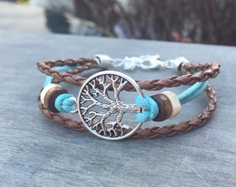 Tree of Life Bracelet Celtic Bracelet Boho Bracelet Native American Tribal Bracelet Irish bracelet viking bracelet tree bracelet