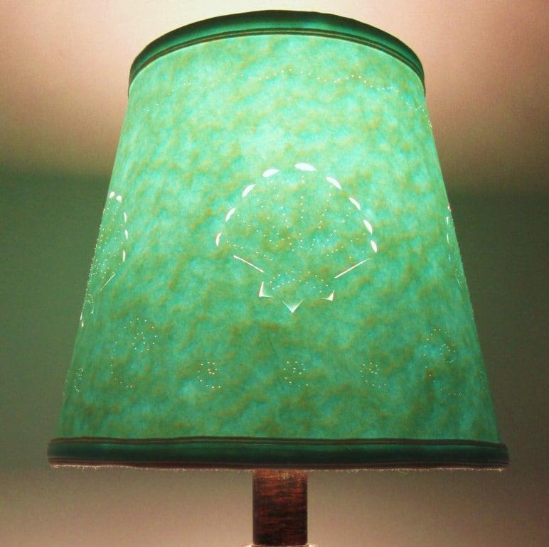 Lampshade Small Cut Paper Lamp Shade Cut And Pierced