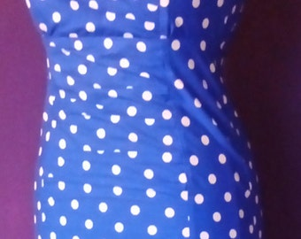 Ladies size 10 wiggle dress, figure hugging, vintage, retro mad men
