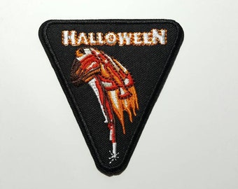 Halloween horror movie vintage embroidered iron on patch