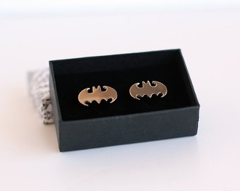 Steel Batman cufflinks
