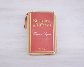 Book Clutch BREAKFAST AT TIFFANYs