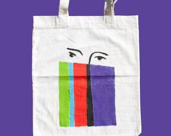 Woman, Matisse tote bag