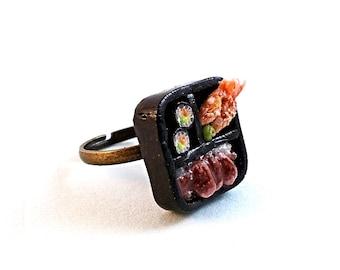 Sushi Bento Box Ring