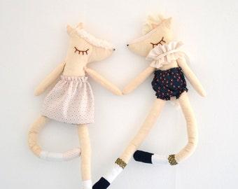"Mobile ""Lovers Dancers"" - nursery decor - baby mobile"