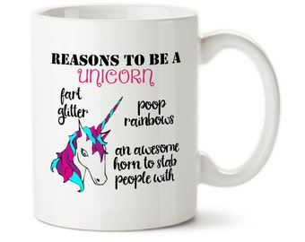 Reasons To Be A Unicorn