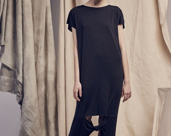 BLACK knots TRANSFORMER DRESS